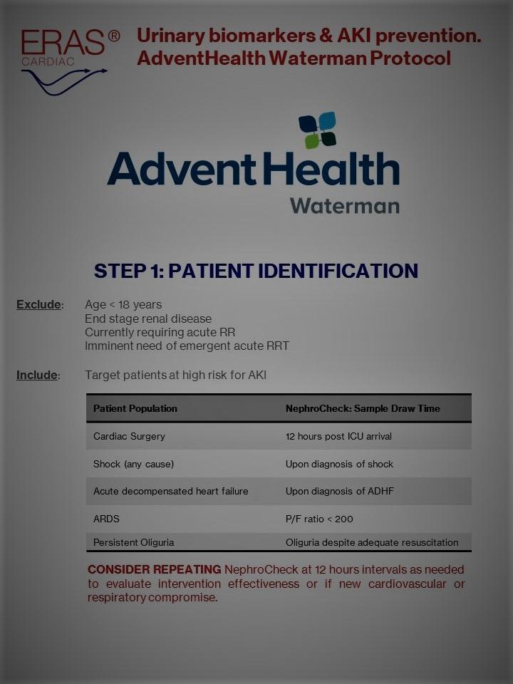 AdventHealth Watermark AKI Protocol