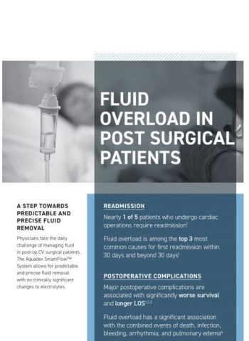 Fluid Overload in Post-Surgical Patients